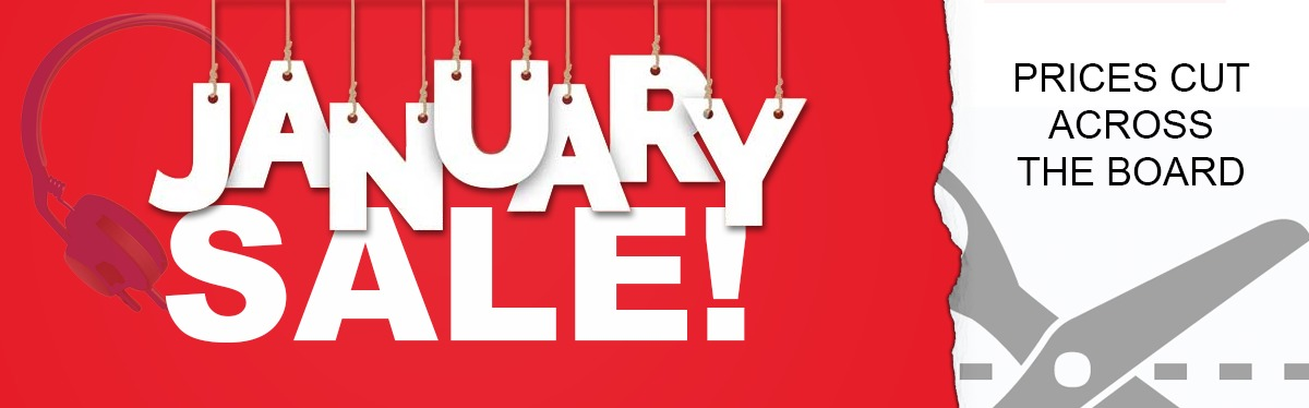 January Sale! Now on!