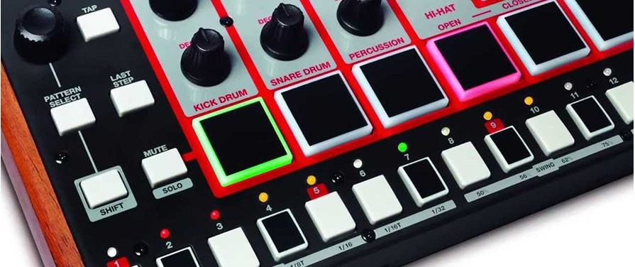 Akai Rhythm Wolf Now In Stock!!