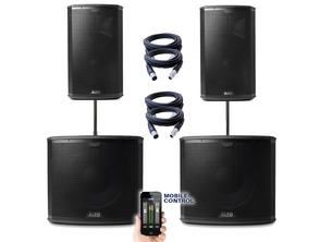 Alto Black 12 Speakers & Black 15 Subs
