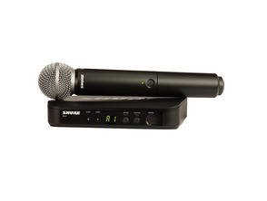 Shure BLX24UK/SM58 Handheld Wireless Vocal System