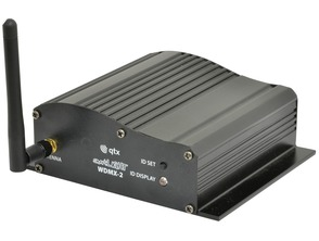 QTX Light WDMX-2 Wireless DMX Transceiver