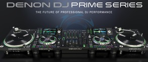 The all new Denon DJ Prime Series X1800 Mixer, SC5000, VL12 Prime Turntable available to pre-order now