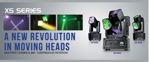 American DJ Moving Heads the ADJ XS Series: Creative But Compact