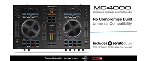 Denon DJ MC4000 News Flash - Now Includes 50% off Serato DJ Pro