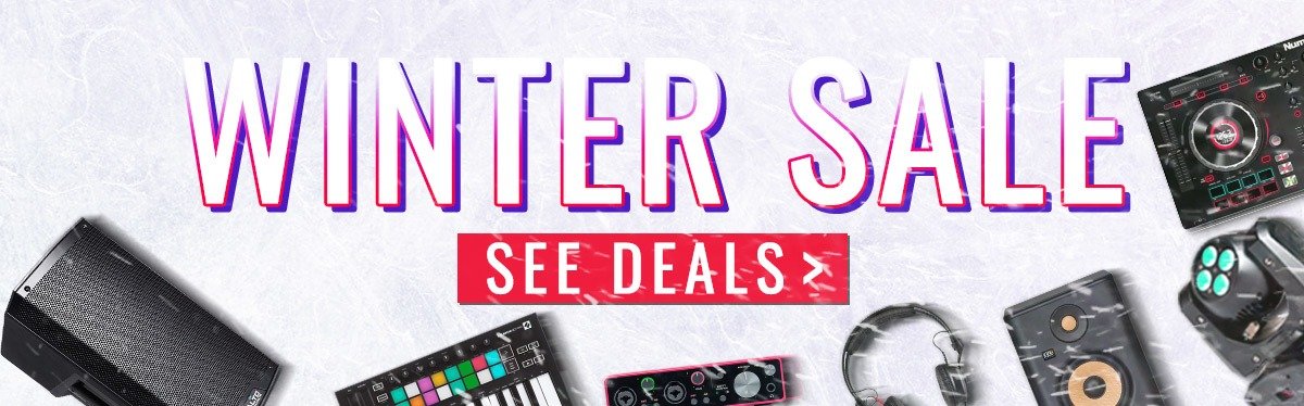 DJ Producer Winter Sale Studio