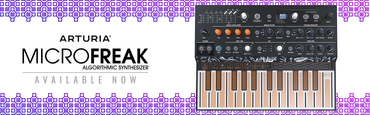 Arturia MicroFreak Available Now