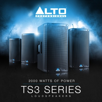 New 2018 Alto Professional Range TS3 & TX2 models Refreshed and reworked