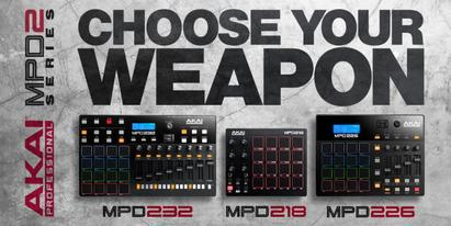 New Akai MPD Series Pad Controllers Launched